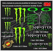 Monster Energy Stickers-pegatinas-aufkleber-autocollants-adesivi,Helmet Monster