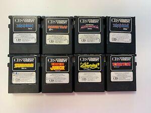 ColecoVision Spiele, Module getestet