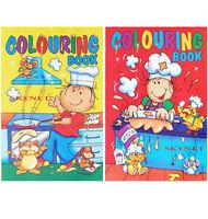 2 x A4 COLOURING BOOK BOOKS BOYS GIRLS Children Kids