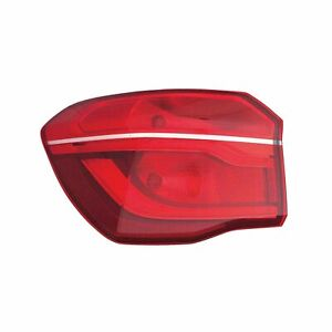 BM2804124C New Replacement Driver Outer Tail Light Assembly Fits 2016-2019 X1