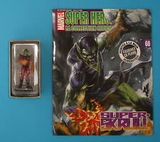 FIGURINE COLLECTION OFFICIELLE MARVEL EAGLEMOSS N°60 SUPER SKRULL + FASCICULE