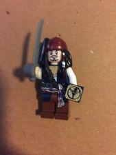 Lego Mini Figure Pirates Of The Caribbean Jack Sparrow