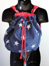 NWT America Stars Stripes Circo Small Kids Blue Backpack Stars Trim Purse Cute