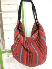 M 09 BAG SHOULDER SLING UNISEX WOVEN NAGA TRIBES BACKPACK BOHO HIPPIE FAIR TRADE