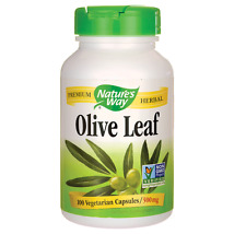 Olive Leaf  >> 500 mg 100 Veg Caps