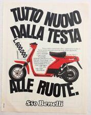 Pubblicità 1981 MOTO BENELLI S50 MOTOR old advertising publicitè werbung reklame