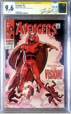 Avengers #57 CGC 9.6 / 1st Vision / STAN LEE SS - 1 of 4 / 1 of top 8 overall