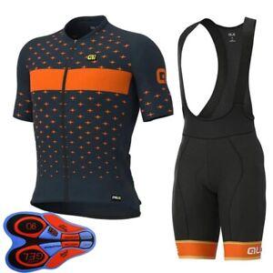 2021 Mens Team cycling jersey bib shorts Set Short Sleeve Bicycle Sports Uniform