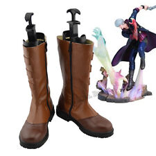 Handcrafted Devil May Cry 4 NERO Cosplay Shoes Boots Customized