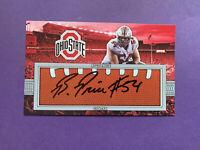Billy Price Autograph 3x5 Photo 1/1 NFL NCAA Auto Ohio State Buckeyes Bengals