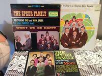 "THE SINGING SPEERS The Speer Family 3 Records 12"" Album Vinyl LP 1960s Gospel"