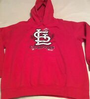 St. Louis Cardinals Adult XL 2011 National League Champions Pullover Sweatshirt