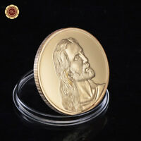 WR The LAST SUPPER, Jesus Religion, 24K Gold Token Coin Rare Mint Souvenirs Gift