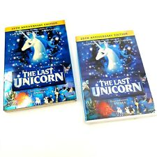 Last Unicorn (NEW DVD, 2007) 25th Anniversary Family 1982 Animated Widescreen