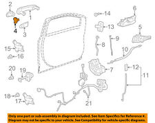GM OEM Front Door-Lock Cylinder 20912091