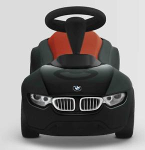 BMW Genuine Baby Racer III Kids Ride On Push Toy Car Black Orange 80932413782