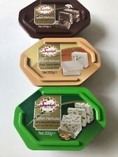 Halva -Helva - 3 Pack Each 300g - 1 Plain, 1 pistachio, 1 Cocoa - Free UK Post