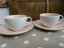 Earthenware 1940-1959 Poole Pottery Tableware Cups & Saucers