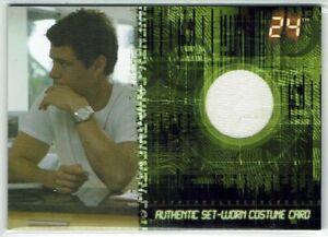 24 Season 5 Case Topper Costume Card CT1 Carlos Bernard as Tony Almeida T-Shirt
