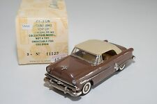 \ BUBY COLLECTOR'S CLASSICS FORD SUNLINER CRESTLINE 1953 BROWN MINT BOXED