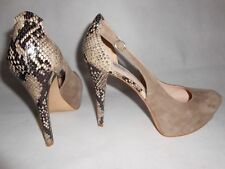 New Guess suede reptile print shoes US10  RRP £145