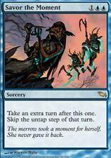 MTG: Savor the Moment - Blue Rare - Shadowmoor - SHM - Magic Card