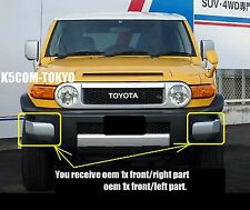 Right & Left Front Bumper Eend Cap TOYOTA for FJ CRUISER GENUINE OEM Part Jdm