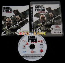 KANE & LYNCH DEAD MEN Ps3 Versione Ufficiale Italiana 1ª Edizione ••••• COMPLETO