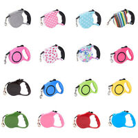 3/5 m Pet Dog Puppy Automatic Retractable Traction Rope Walking Lead Leash
