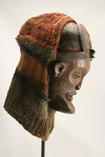 African wooden male Chokwe Chihongo mask Tshokwe tribe, Angola Africa tribal art