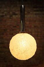 SPACE-AGE Plafonnier Luminaire lampe Pendant lumière chrome 60er