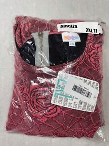 LuLaRoe Amelia Dress Size 2XL 11