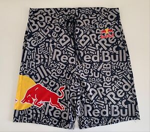 RED BULL ATHLETE ONLY SWIM BOARDSHORTS - NAVY - SUMMER - SHORTS - HAT
