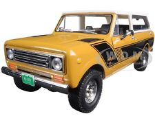 1979 INTERNATIONAL SCOUT TRAVELER RALLY GOLD 1/25 DIECAST BY FIRST GEAR 40-0364