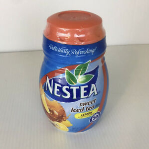 Nestea Sweet Ice Tea with Lemon Mix Makes 20 Qts  45.1 oz Best By Aug 2020 Disc