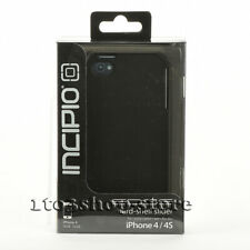 Incipio iPhone 4 & iPhone 4s EDGE Slider Hard Shell Shockproof Case Matte Black