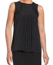 MICHAEL Michael Kors Pleated Front Panel Top. Size XL.