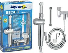 Aquaus Hand Held Bidet Attachment Pressure Control Multi-Spray Pattern Chrome