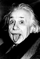 Albert Einstein Poster, Sticking Out His Tongue