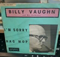 "BILLY VAUGHN ""I'M SORRY/RAG MOP"" LONDON HL 1503"
