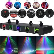80W RGBY Lichteffekt Laser Beam DJ Projektor DMX Bühnenbeleuchtung Disco Show DE
