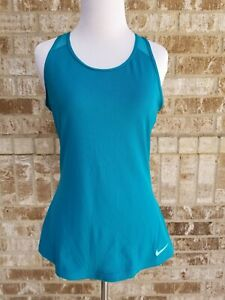 GAP Fit Teal Blue Racerback Top Size Small