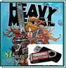 HEAVY METAL ILLUSTRATED MAGAZINE COMIC BOOK - 81 ISSUES - PDF ON USB - VINTAGE