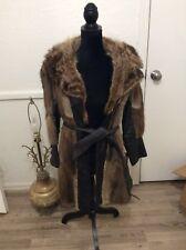 Vintage Rabbit Fur Coat. Medium