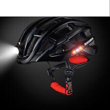 Cycling Helmet With Light Ultralight Bike helmet Mountain Road Bicycle MTB Blue