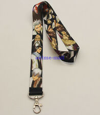 BLEACH Anime Lanyard Neck strap ID Card Badge Holder Key Chains