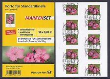 Bund Mi. Nr. 2716 - Folienblatt 8 - Blumen Ersttagstempel Bonn aus Jahrgang 2010
