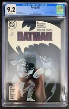 "Batman #407 CGC 9.2  5/87 3745767012 - Pt. 4 of ""Year One"" storyline"