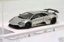 1/43 Davis Giovanni Liberty Walk LB Murcielago Chrome Silver Free Shipping/ MR