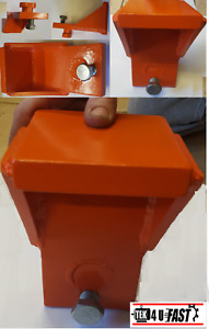 """Shipping Container, Clip-On, Jack / Lifting / Leveling Attachment (1/2"""" Plate)"""
